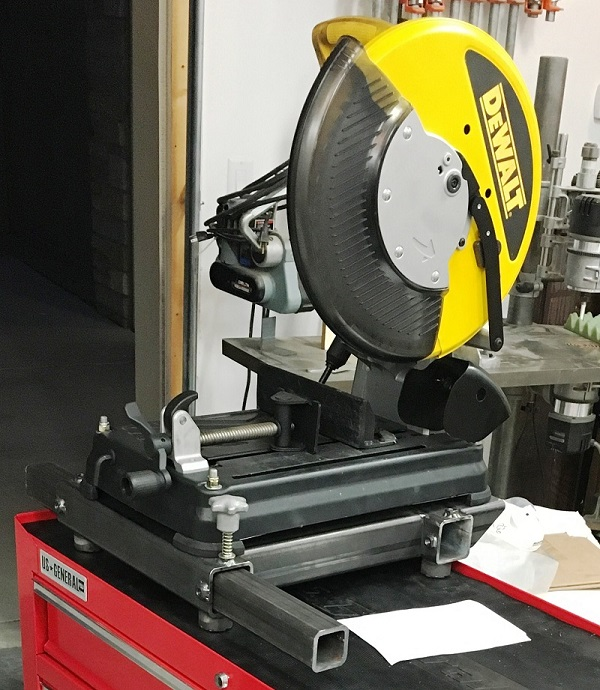 thereu0027s fair investment sitting there but that dewalt cold saw will cut a 4u201d diameter u201d walled tube in about 10 seconds and make a nice cut at that